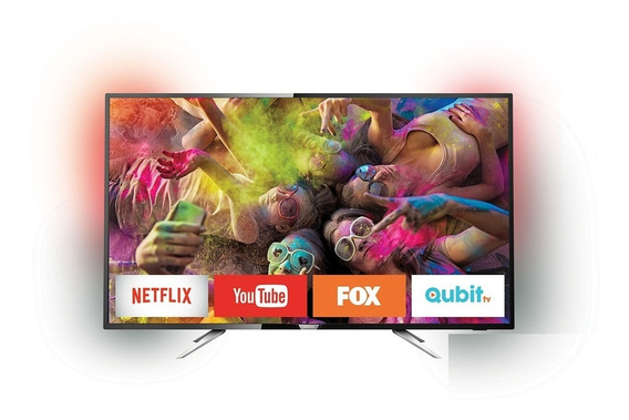 Smart Tv 4k Philips Con Ambilight 55 Mod. 55pug6212/77