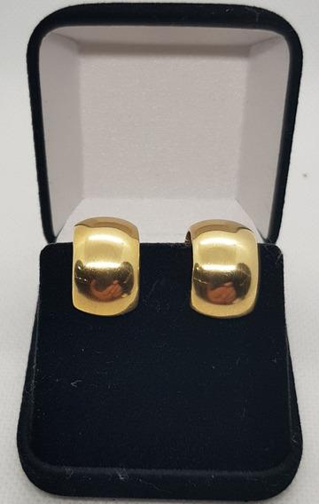 Brincos Argola Em Ouro 18k