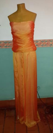 Vestido Fiesta T M.largo.medidas.san Isidro