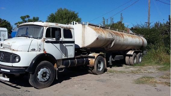 Mercedes Benz Tractor Con Semirremolque Tanque De 25.000 Lts
