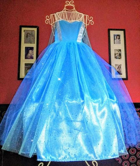 Disfraz De Frozen Elsa