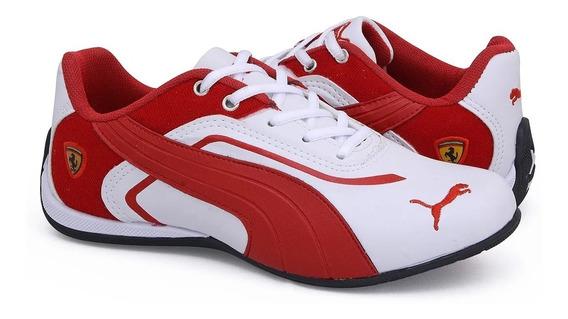Tênis Masculino E Feminino Ferrari Promoção Apenas Hoje