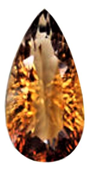 Topázio Imperial 10,78 Cts Corte Gota Millenium