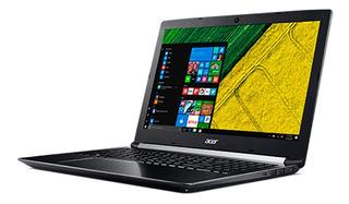 Notebook Acer I7 8va 16gb Ram 256gb Ssd Gtx1060 17.3 Win 10