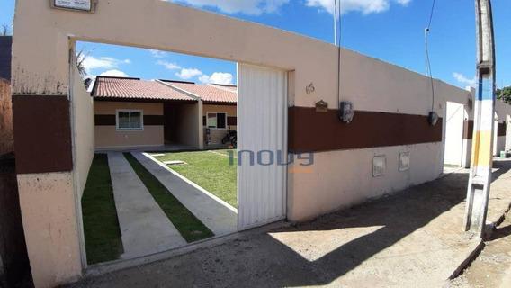 Casa Com 3 Dormitórios À Venda, 88 M² Por R$ 160.000,00 - Conjunto Jereissati Iii - Pacatuba/ce - Ca0593