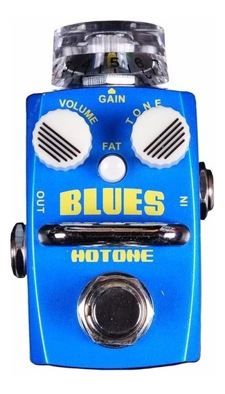 Mini Pedal Para Guitarra Hotone Blues Overdrive