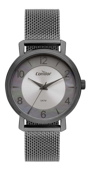 Relógio Feminino Condor Rainbow Cinza Co2036kxa4k