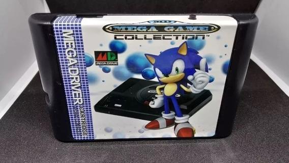 Flash Card Everdrive Md Mega Drive Master Edmd + Sd Card 8gb