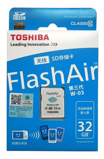Memoria Sd Wifi 32gb Toshiba