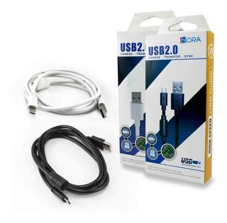 Cable Usb 1hora Micro V8 2.0 Android - Mayoreo
