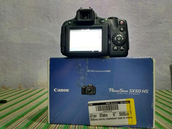 Câmera Sony Power Shot Sx50hs(promoção)