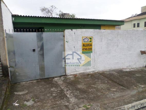 Casa Com 2 Dormitórios Para Alugar, 70 M² Por R$ 900/mês - Jardim Das Flores - Suzano/sp - Ca0223