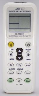 Kit 10 Uni.controle Remoto Ar Condicionado Universal 1028e