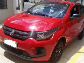 Fiat Mobi Easy 15.790km Vermelho 2017 Direção Hidráulica E C