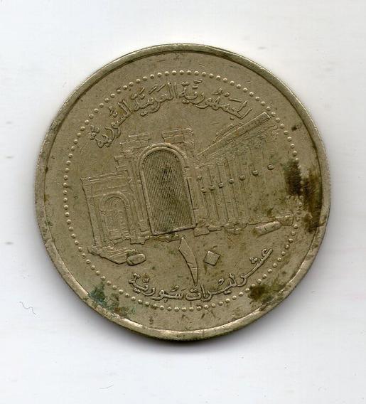 Siria Moneda 10 Pounds 2003 Km#130 - Argentvs