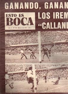 Revista Esto Es Boca 139 - 2 De Marzo De 1976