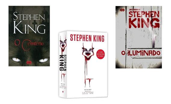 O Cemitério Stephen King+it. A Coisa+o Iluminado Lacrados