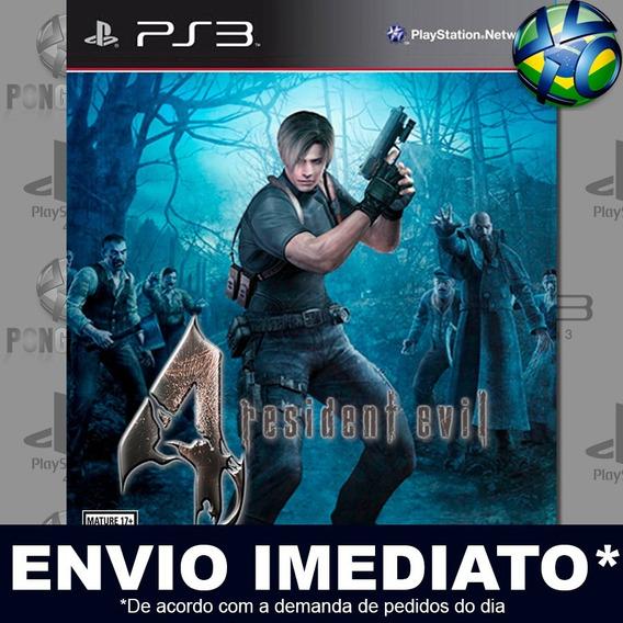 Resident Evil 4 Ps3 Psn Jogo Promoção Pronta Entrega Play 3