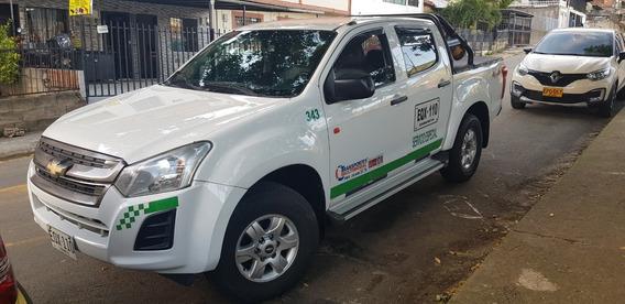 Vendo Chevrolet Dmax 4x4 Mod. 2019 Servicio Público