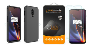 Case Oneplus 6t Zizo & Supershieldz Glass Biselado 2.5d Hd
