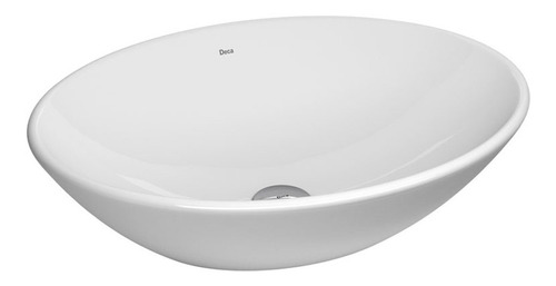 Imagen 1 de 10 de Bacha Apoyo Ovalada Deca L68 Apoyar Loza Ceramica Oval Envio