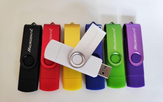 Pen Drive 32gb Usb 2.0 Micro Usb Duas Entradas