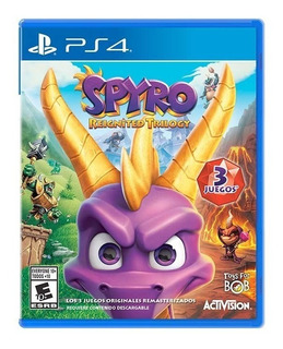 Juego Ps4 Spyro Reignited Trilogy