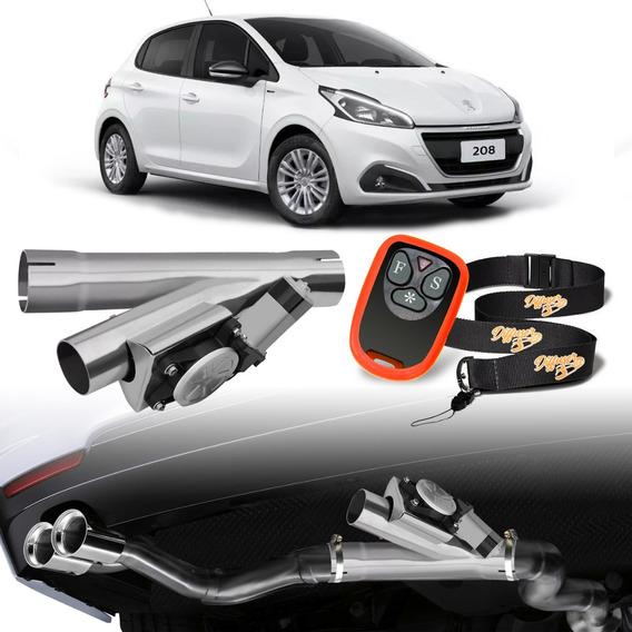 Difusor Escapamento Inox Sport Universal Peugeot 208