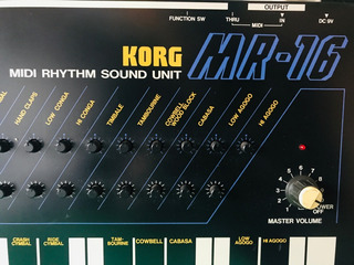 Korg Mr 16 Drum Machine 8 Bits Gorillaz