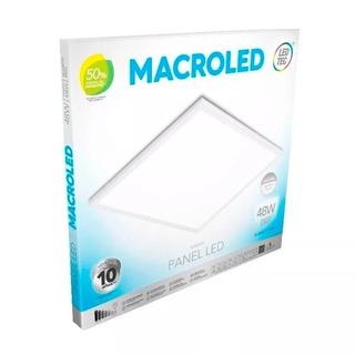 Plafon Led Techo 60x60 48w Luz Fria/calida Macroled Cajax5