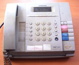 Fono Fax Contestadora Copiadora Samsung Sf 110t Fax Operati