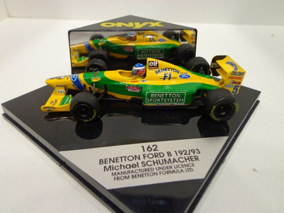 Benetton Ford B192 Schumacher 1992 1/43 Onyx
