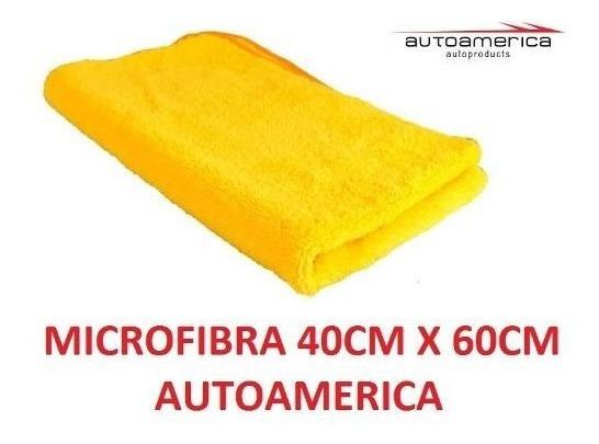 Flanela Toalha Microfibra 40 X 60 Cm Autoamerica