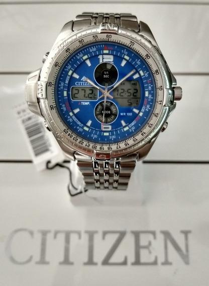 Relógio Citizen Combo Temperatura