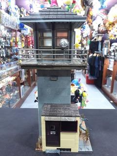 Building Set The Walking Dead Prision Tower Mc Farlane