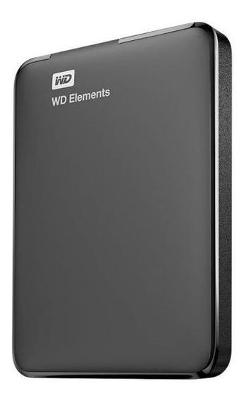 Disco Rígido Portable Wd Elements 2tb