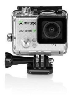 Nova Sportcam Mirage 4k Camera Filmadora Lcd 2 Com Sd 16gb