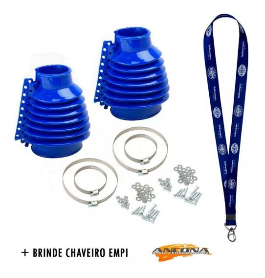 Coifa Do Cambio Silicone Empi Fusca Kombi Azul (par)