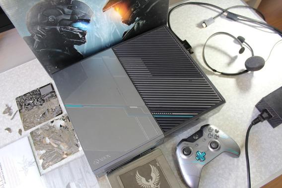 Xbox One Edição Halo 5 Novinho Na Caixa C/ 13 Jogos Gta V