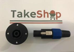 Conector Plug Speakon 30 Unidades 15 M + 15 F