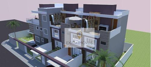 Imagem 1 de 4 de Lançamento! Casa Triplex Com Terraço, A 150m Da Praia, Recreio/ Praia De Costazul! - Ca1320
