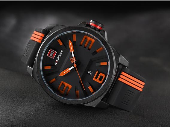 Relógio Naviforce Esportivo A Pronta Entrega Modelo Nf 9098