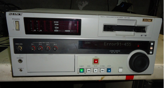 Dvcam Sony Dsr-1800 Faltando Placas Ref:12d158dss