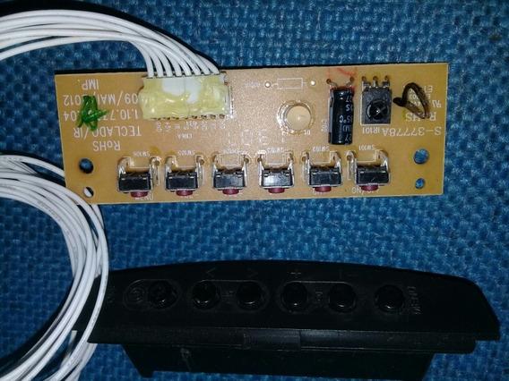 Teclado +sensor Tv Cce Ln244/ln244w