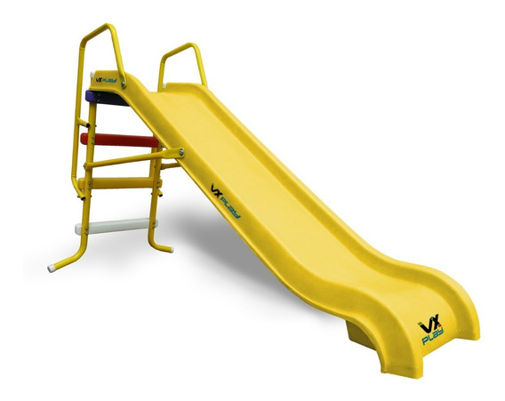 Tobogan Infantil 3 Escalones Bajada Vxplay Doble Pared