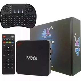 Tv Box Smart 4k Pro 2 Gb/16gb Android 8.1 Wifi + Teclado Led