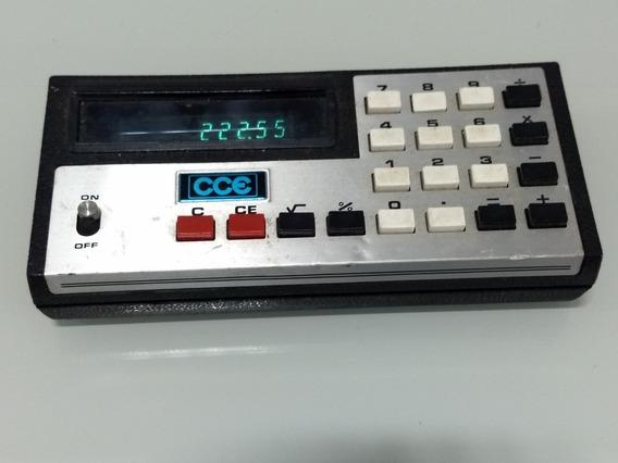 Calculadora Antiga Vintage Cce Rp8 Anos 70 Funcionando
