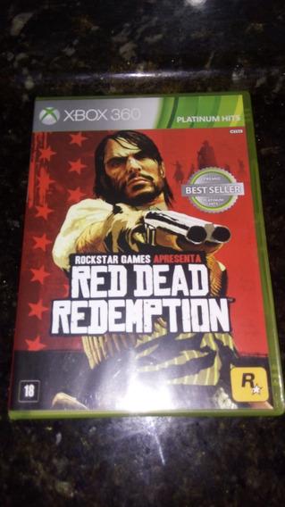 Red Dead Redemption Xbox 360 Original Mídia Física