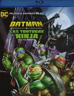 Batman Y Las Tortugas Ninja Tmnt Dc Comics Pelicula Blu-ray
