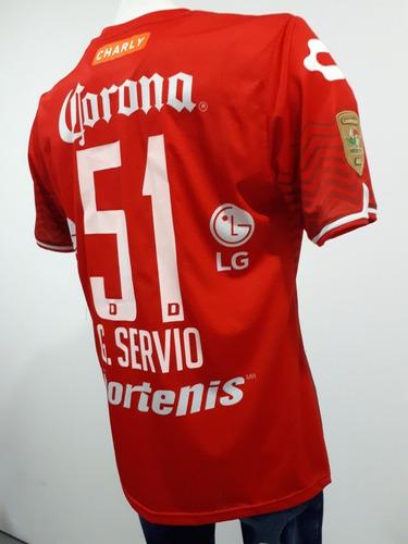 Jersey Dorados Sinaloa 2016 2017 Rojo Gaspar Servio 51 Parch